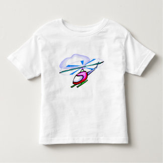 Cartoon Helicopter Tshirt