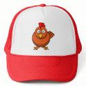 Cartoon Hen Chicken Cap hat