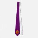 Cartoon Hen Chicken Rooster Tie tie