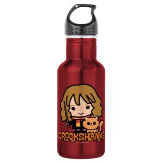 Cartoon Hermione and Crookshanks 532 Ml Water Bottle