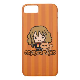 Cartoon Hermione and Crookshanks iPhone 8/7 Case