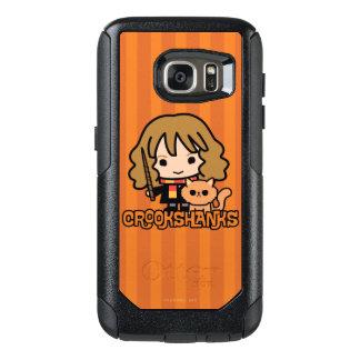 Cartoon Hermione and Crookshanks OtterBox Samsung Galaxy S7 Case