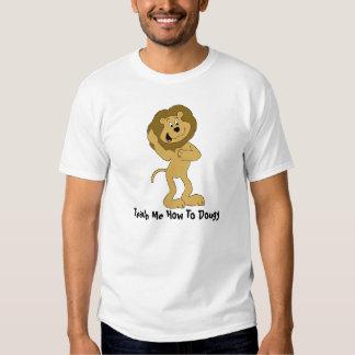 Cartoon Hip Hop Lion Doing The Dougie Tees
