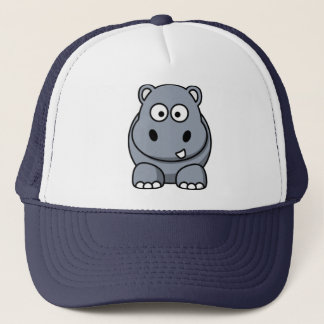 Cartoon Hippo Cap