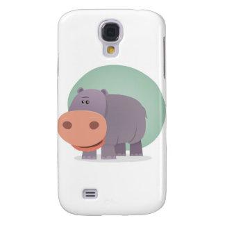 Cartoon Hippo Samsung Galaxy S4 Cases