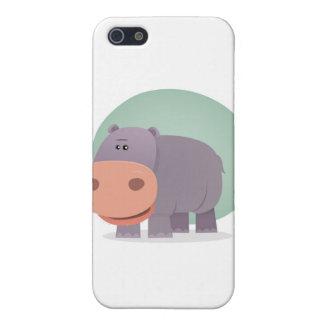 Cartoon Hippo iPhone 5/5S Cover