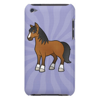 Cartoon Horse Barely There iPod Covers