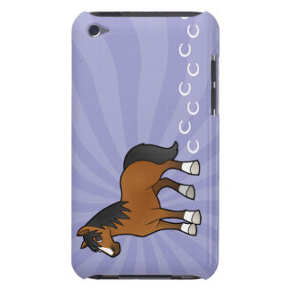 Cartoon Horse Case-Mate iPod Touch Case