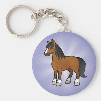 Cartoon Horse Key Chain