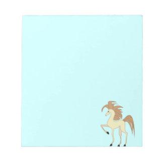 Cartoon Horse Notebook Notepad