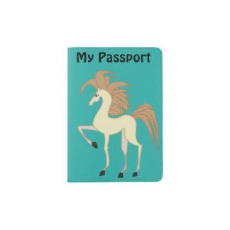 Cartoon Horse Passport Holder