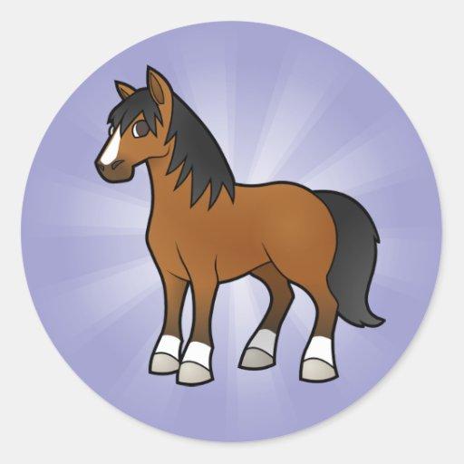 Cartoon Horse Stickers
