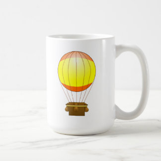 Cartoon Hot Air Ballon Coffee Mugs