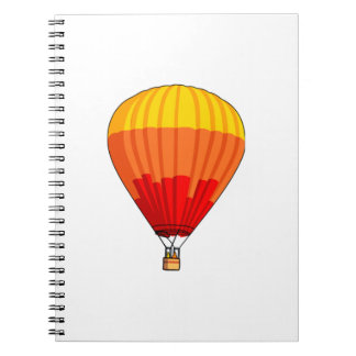 Cartoon Hot Air Ballon Note Book