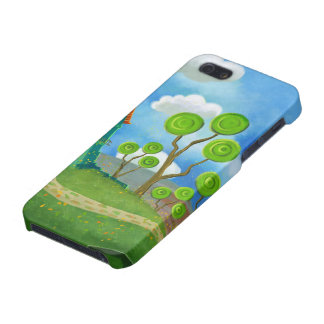 cartoon house iphonecase iPhone 5 case