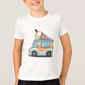 Cartoon Ice Cream Van T-Shirt