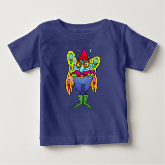 Cartoon illustration of a butterfly, tees. baby T-Shirt