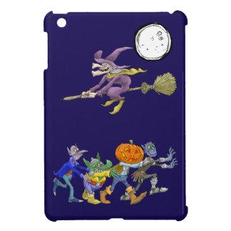 Cartoon illustration of a Halloween congo. Cover For The iPad Mini