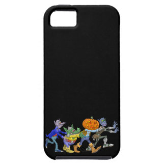 Cartoon illustration of a Halloween congo. iPhone 5 Cover