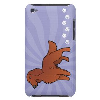 Cartoon Irish / English / Gordon / R&W Setter iPod Touch Case-Mate Case