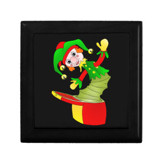 Cartoon Jack in the box cushion Small Square Gift Box