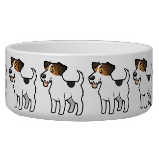 Cartoon Jack Russell Terrier