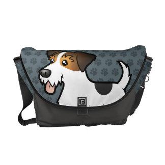 Cartoon Jack Russell Terrier Commuter Bag