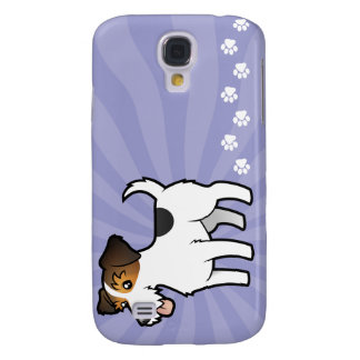 Cartoon Jack Russell Terrier Galaxy S4 Case