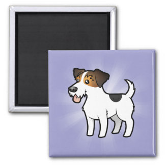 Cartoon Jack Russell Terrier Magnet