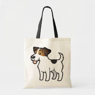Cartoon Jack Russell Terrier Tote Bag