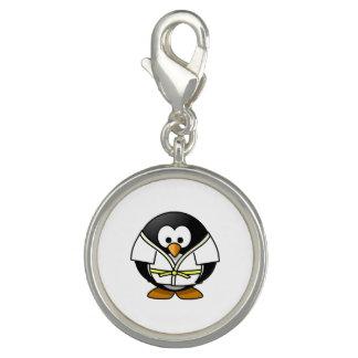 Cartoon Judo Penguin