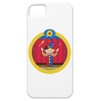 Cartoon Juggling Circus Clown Case For The iPhone 5