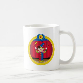 Cartoon Juggling Circus Clown Coffee Mug