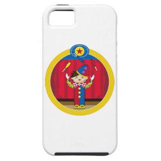 Cartoon Juggling Circus Clown iPhone 5 Case