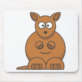 Cartoon Kangaroo. Mouse Pad