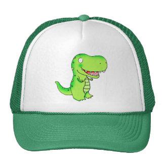 cartoon kids dinosaur T-rex Hats
