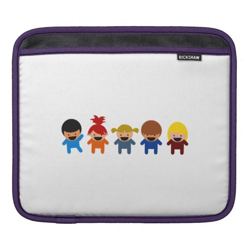 Cartoon Kids iPad Sleeve