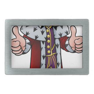 Cartoon King Character Belt Buckle