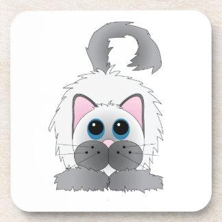 Cartoon Kitten Coasters