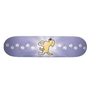 Cartoon Labrador Retriever Custom Skate Board