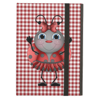 Cartoon Ladybug fun iPad Air case