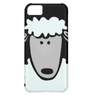 Cartoon Lamb Face iPhone 5C Case
