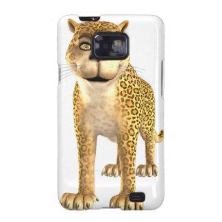 Cartoon Leopard Samsung Galaxy S2 Case