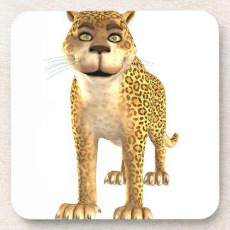 Cartoon Leopard Coasters