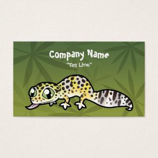 Cartoon Leopard Gecko