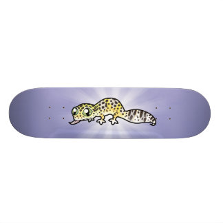 Cartoon Leopard Gecko 19.7 Cm Skateboard Deck