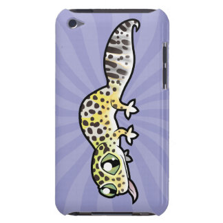 Cartoon Leopard Gecko Barely There iPod Cover