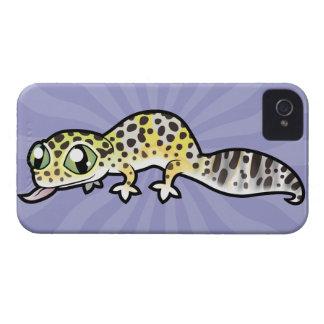 Cartoon Leopard Gecko Case-Mate iPhone 4 Cases