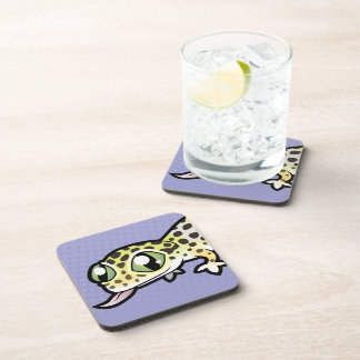 Cartoon Leopard Gecko Coaster