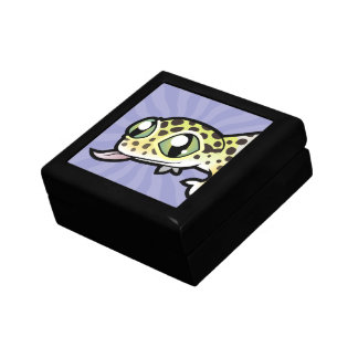 Cartoon Leopard Gecko Gift Box